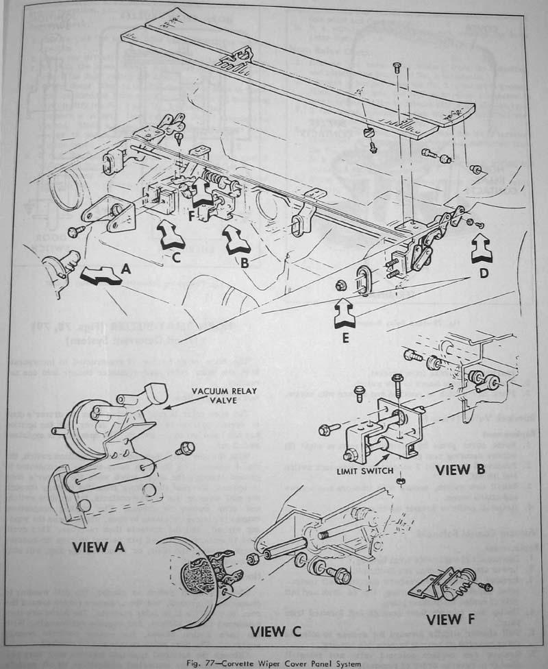 Windshield Wiper Disassembly  U2013 The Corvette Restoration Page