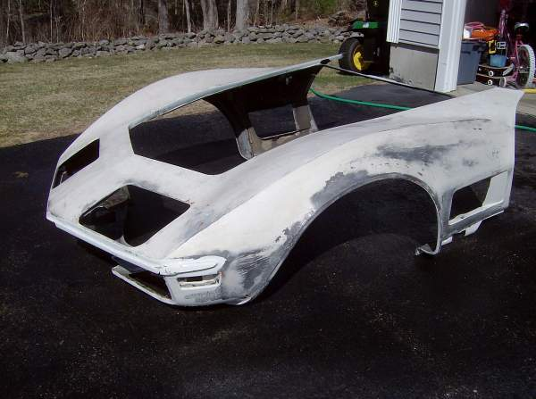 Front Clip Installation: Part 1 – The Corvette Restoration Page