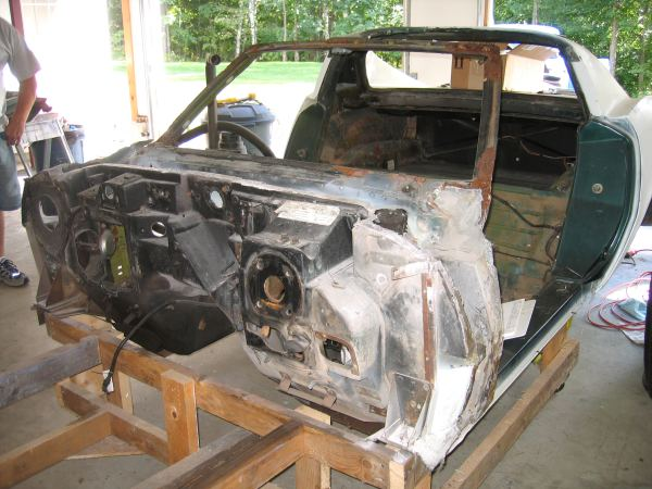 Front Clip Removal – The Corvette Restoration Page